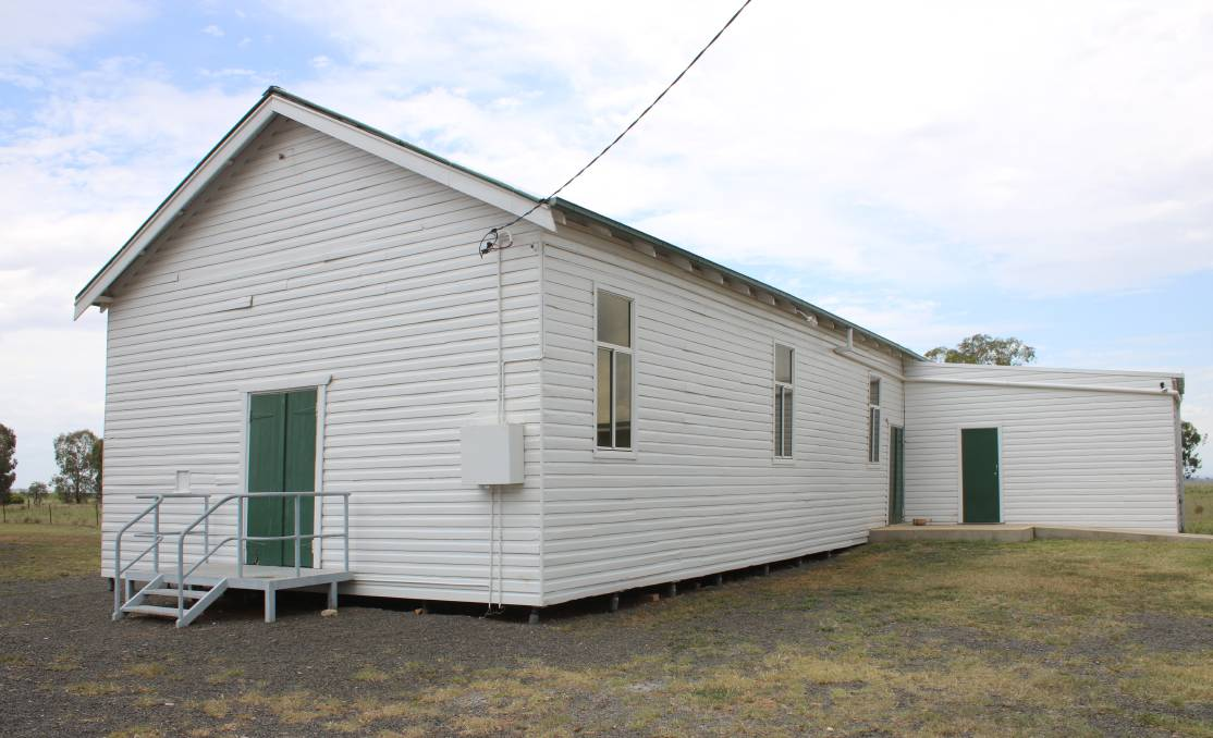 Emerald Hill's community hall will be the focus of improvements in the coming months.