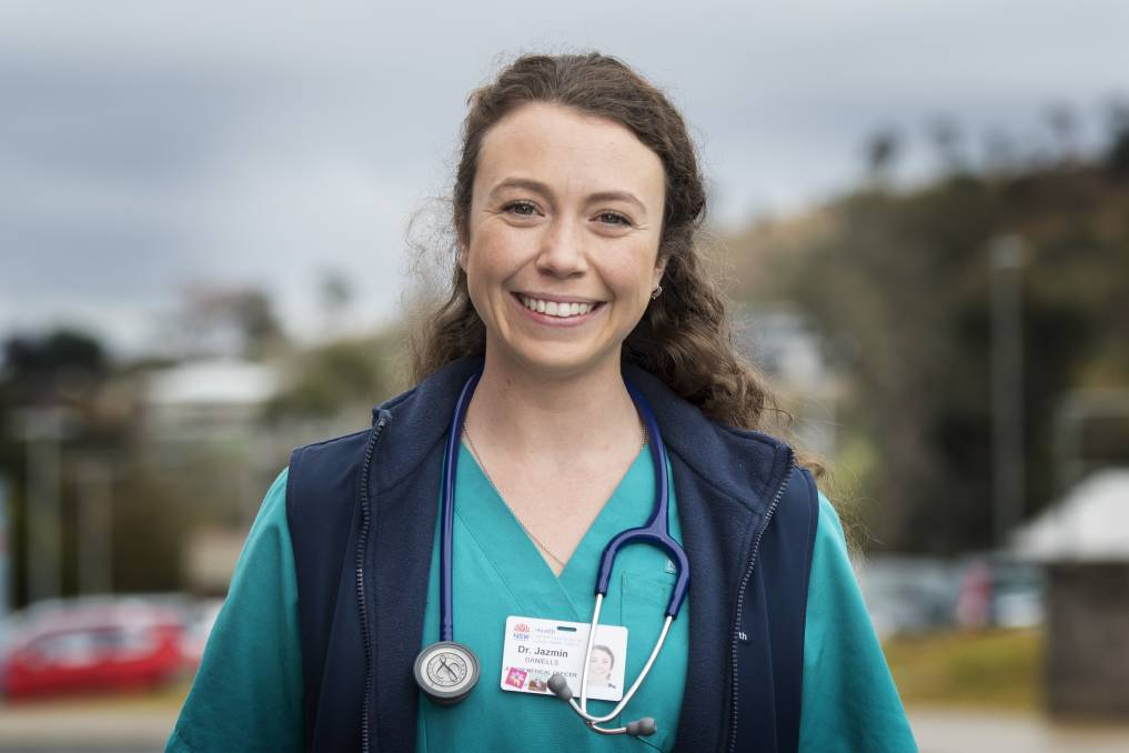 Journey: Junior doctor Jazmin Daniells will travel to Antarctica. Photo: Peter Hardin 030619PHA010