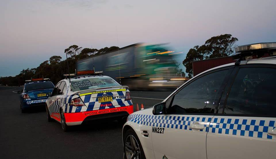 CRACK DOWN: Gunnedah drivers will risk losing double demerit points over the next five days during the Australia Day police crackdown Photo: File