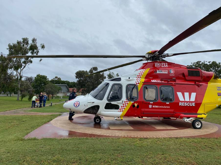 STRANGE YEAR: Even aeromedical units from the likes of the Westpac Rescue Helicopter Service saw a difference in retrieval numbers during lockdown. FILE PHOTO