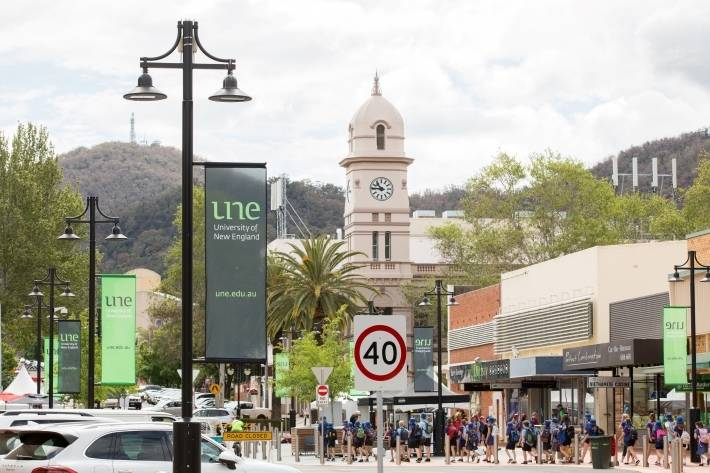 FUNDS NEEDED: The future of a university campus for Tamworth hinges on a $10 million commitment from the federal government. Photo: UNE