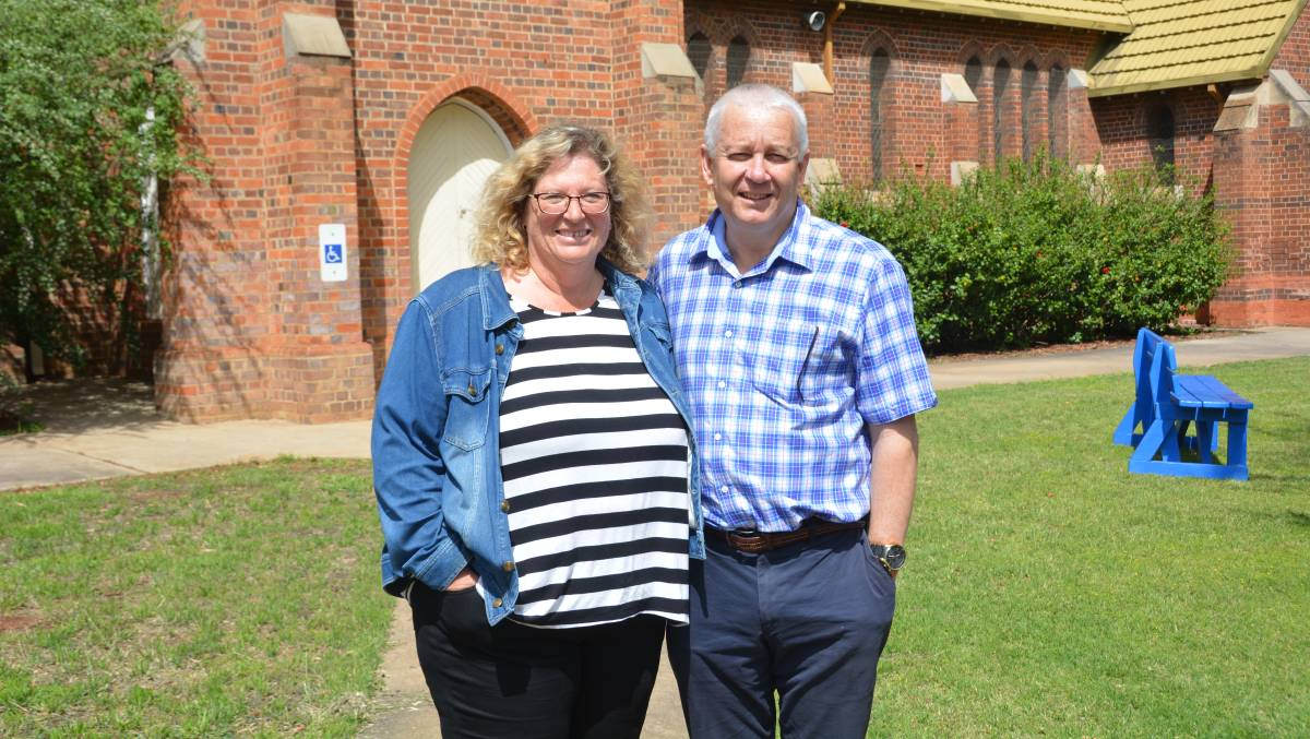 EXCITED FOR FUTURE: Simon and Jenny Waller are settling into Gunnedah well. Photo: Jessica Worboys