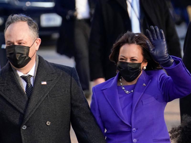 Harris casts first tie-breaking vote for a Biden nominee