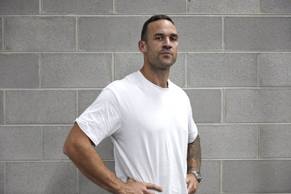 UNTIL THE END: Drew Westfield has written a book about his battle with mental health after the death of his brother former TSL star Mat Westfield. Picture: Supplied